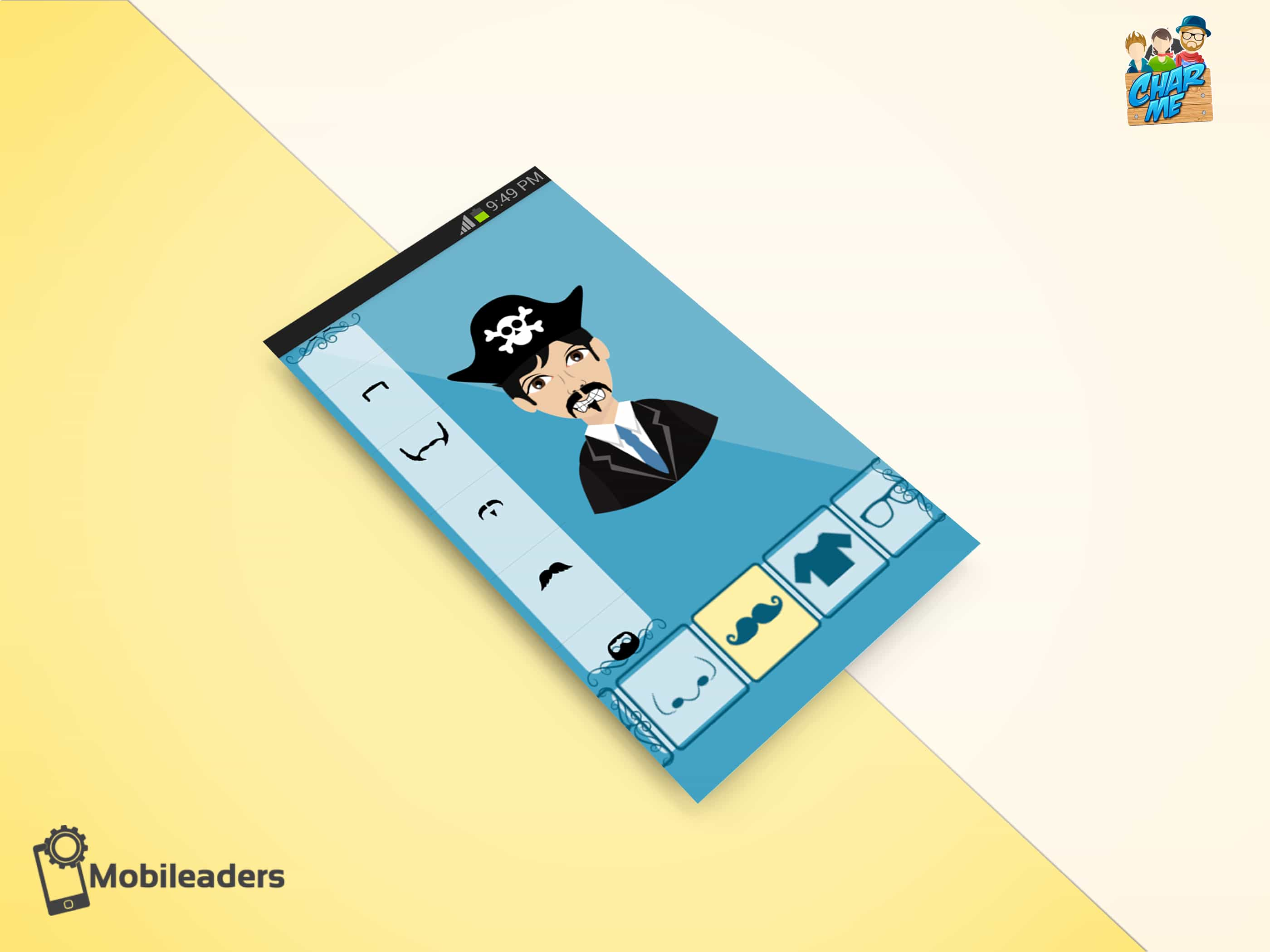 charme mobile application mobileaders